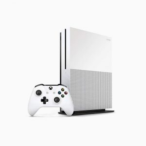 Microsoft - Xbox One S - White - Head