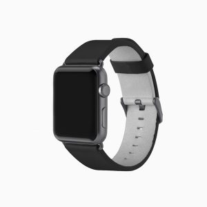 Apple Watch Leather Band - Black