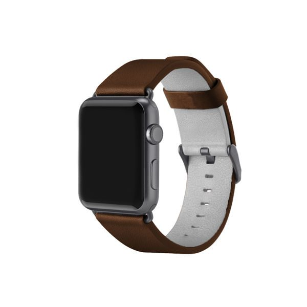 Apple Watch Leather Band - Dark Brown