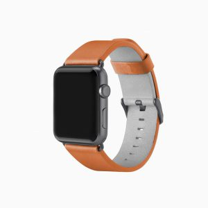 Apple Watch Leather Band - Light Brown